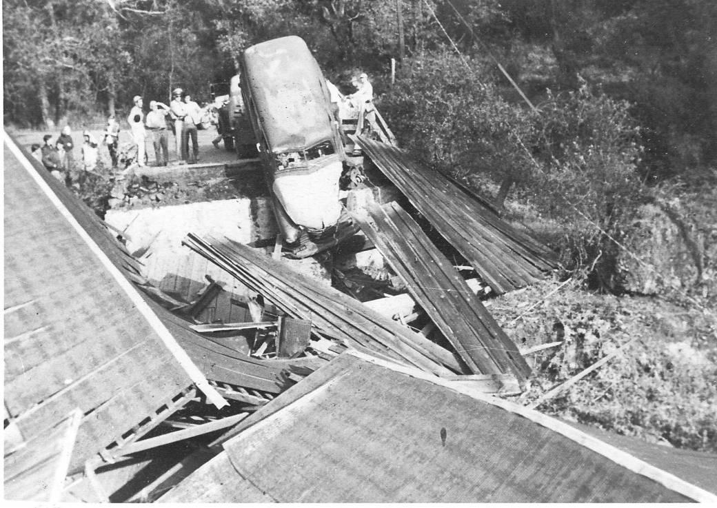 bridge broken