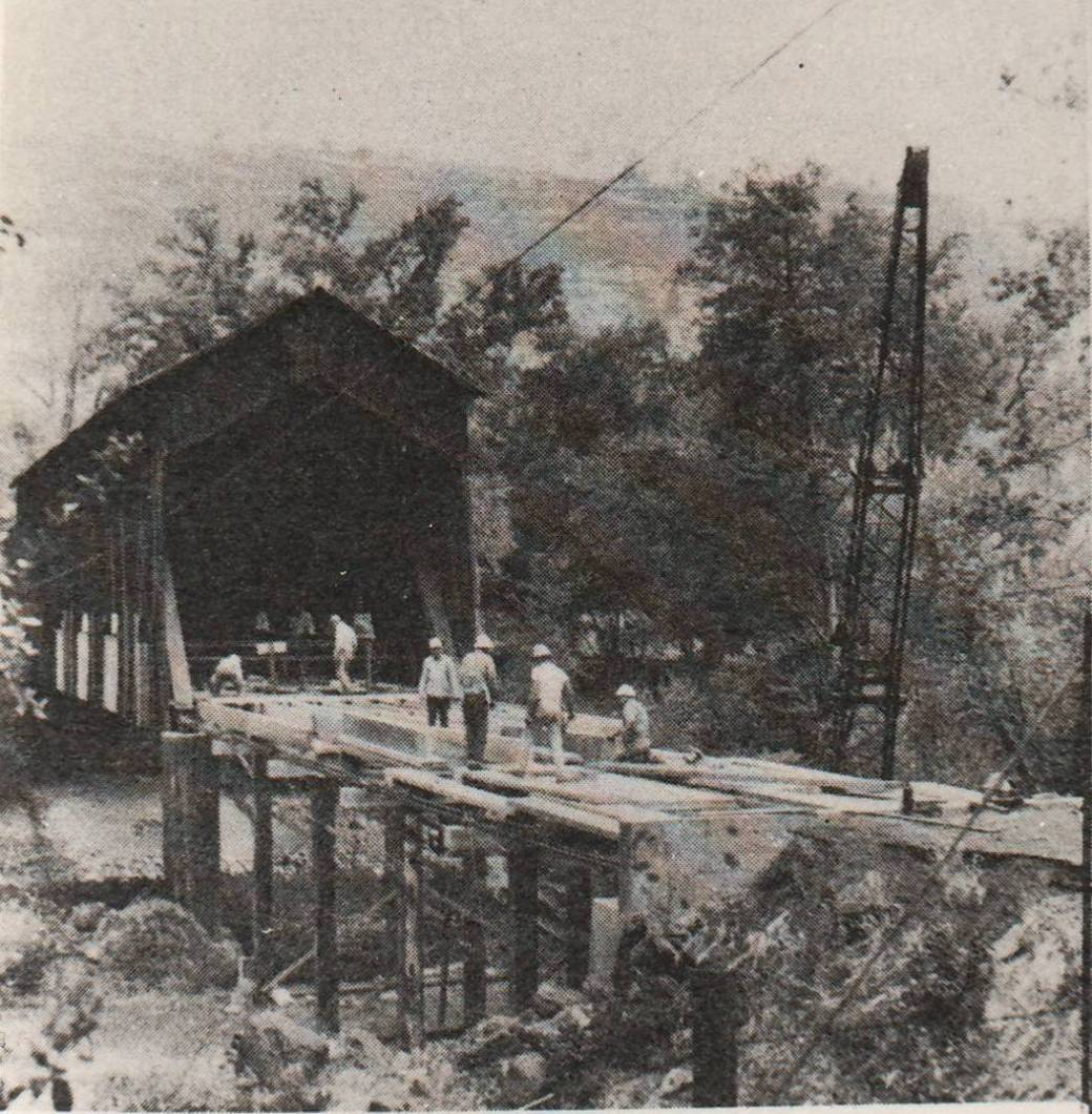 making of the bridge
